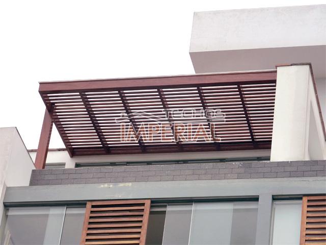 Techos de tejas para patios exteriores modern patio - Techo de madera ...