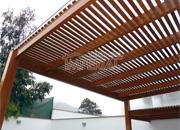 Techos de madera techos de terrazas techos para terrazas for Techos de policarbonato para jardin